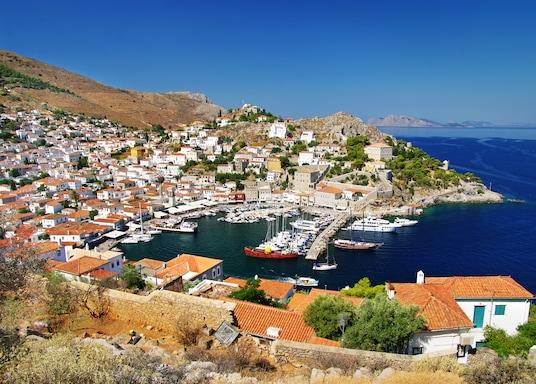 Saroninlahden saaret, Kreikka
