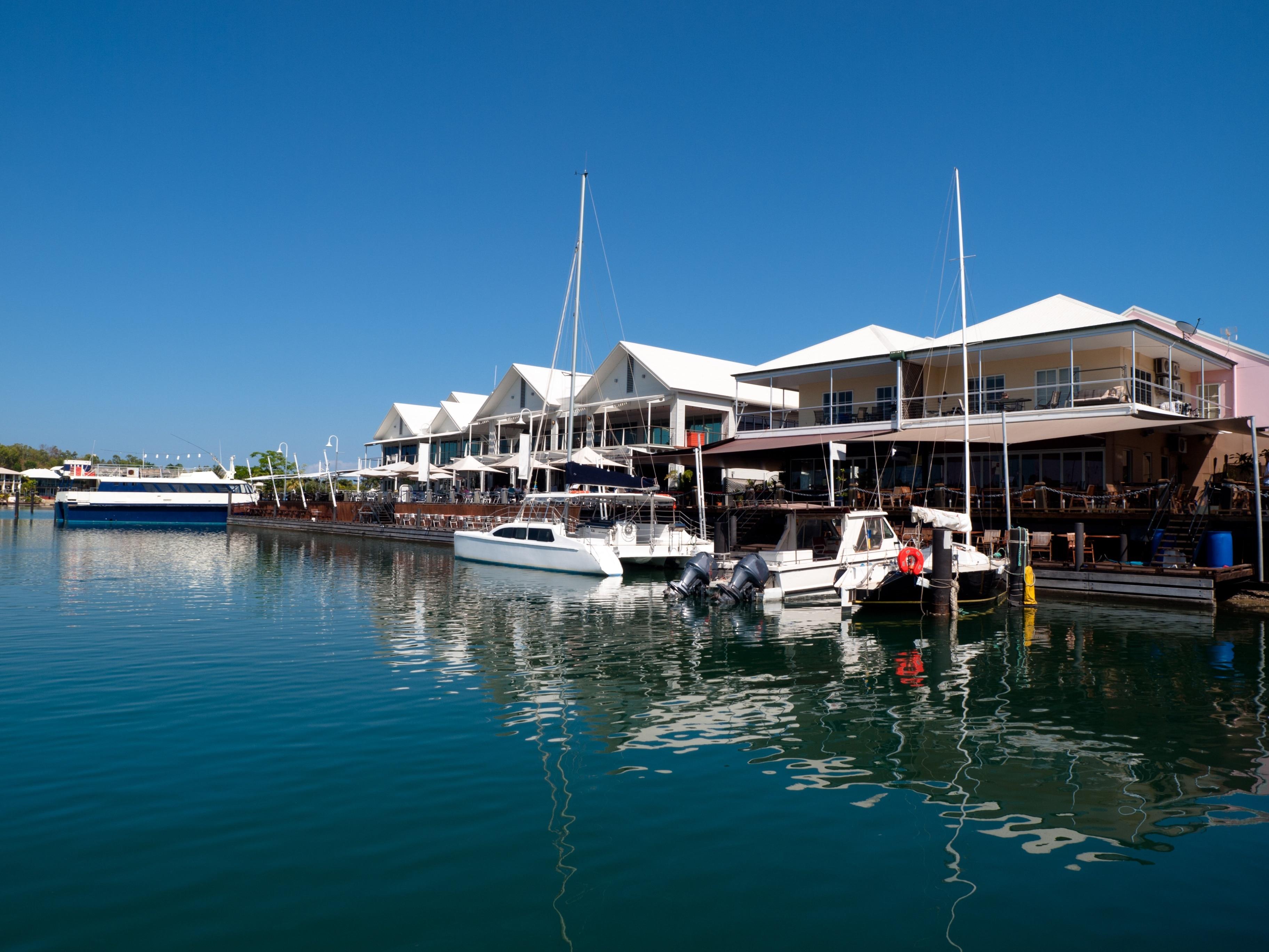 Cullen Bay Marina, Darwin, Northern Territory, Australia