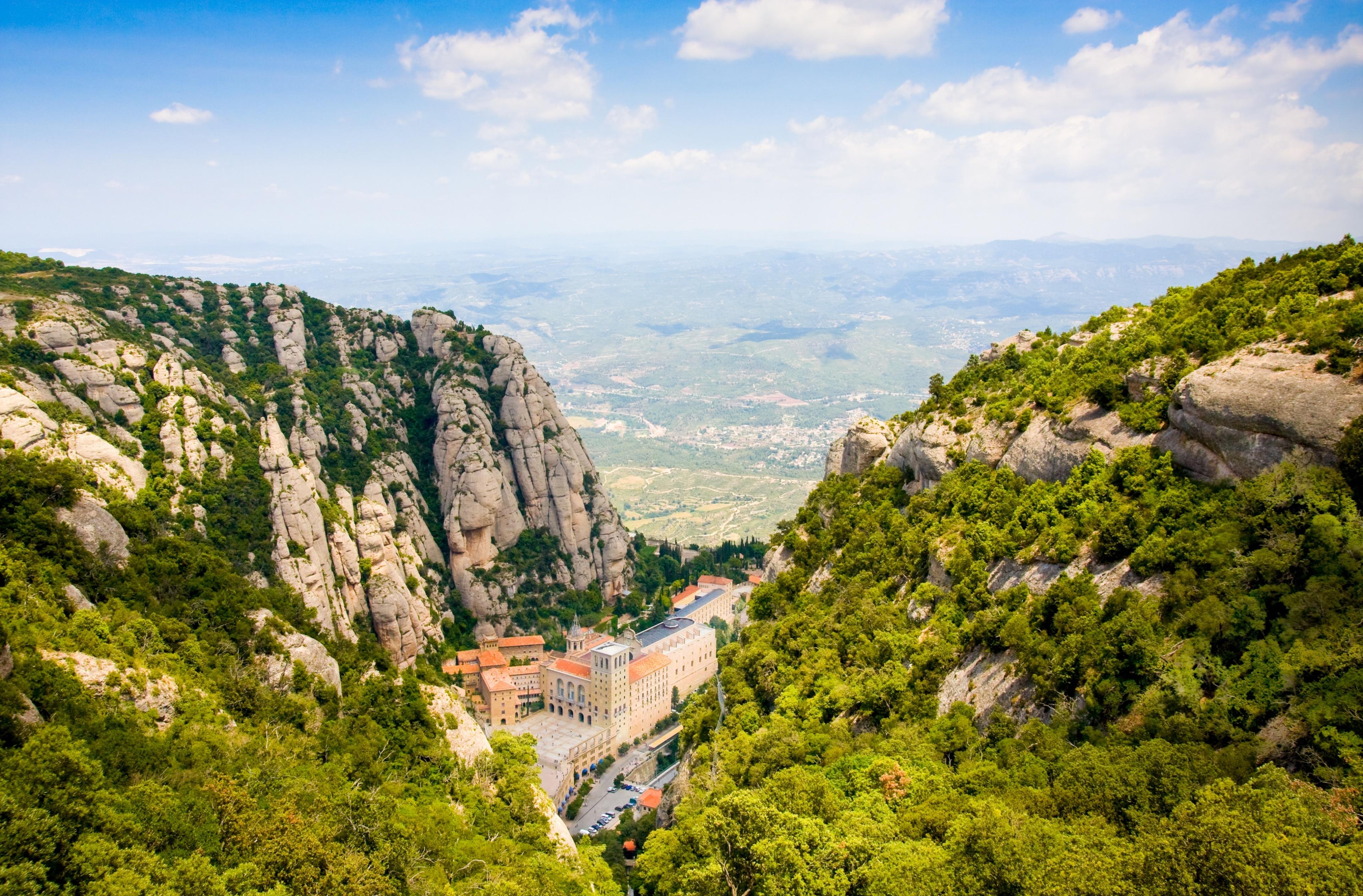 Monasterio de Montserrat, Monistrol de Montserrat, Catalonië, Spanje