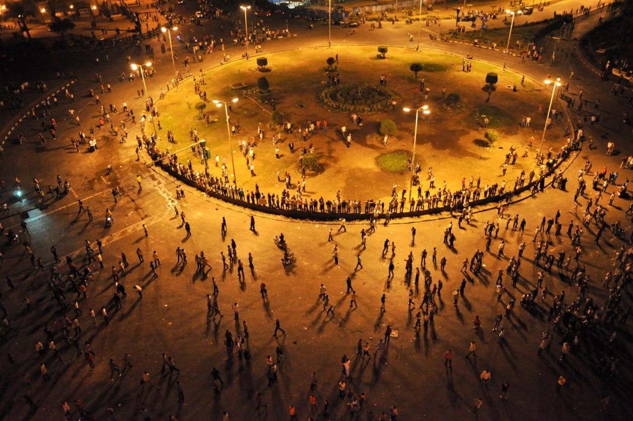 Tahrir-Platz, Kairo, Gouvernement Al-Qahira, Ägypten