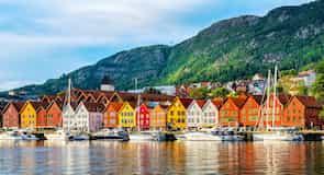 Waterkant van Bryggen
