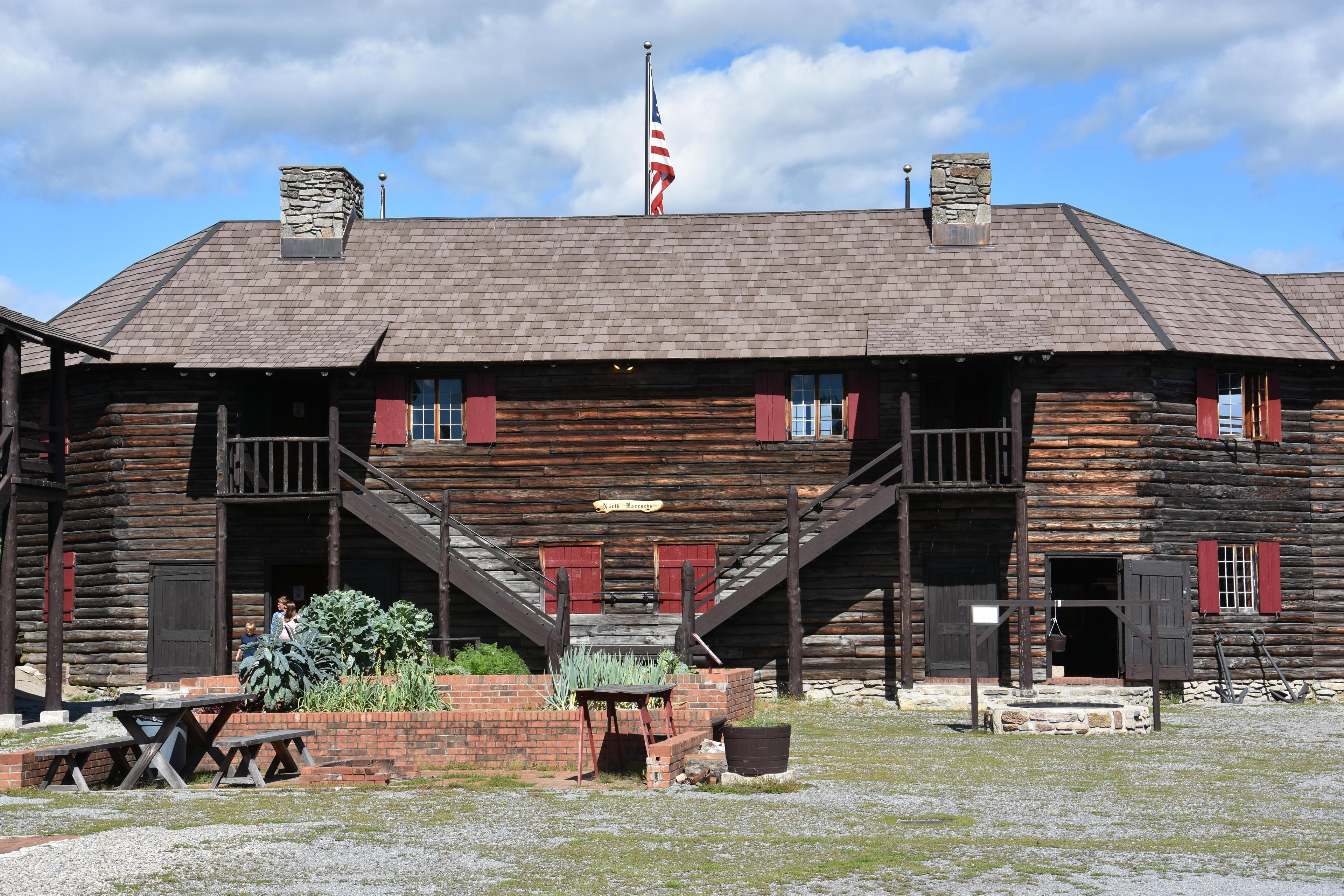 Fort William Henry, Lake George, New York, USA