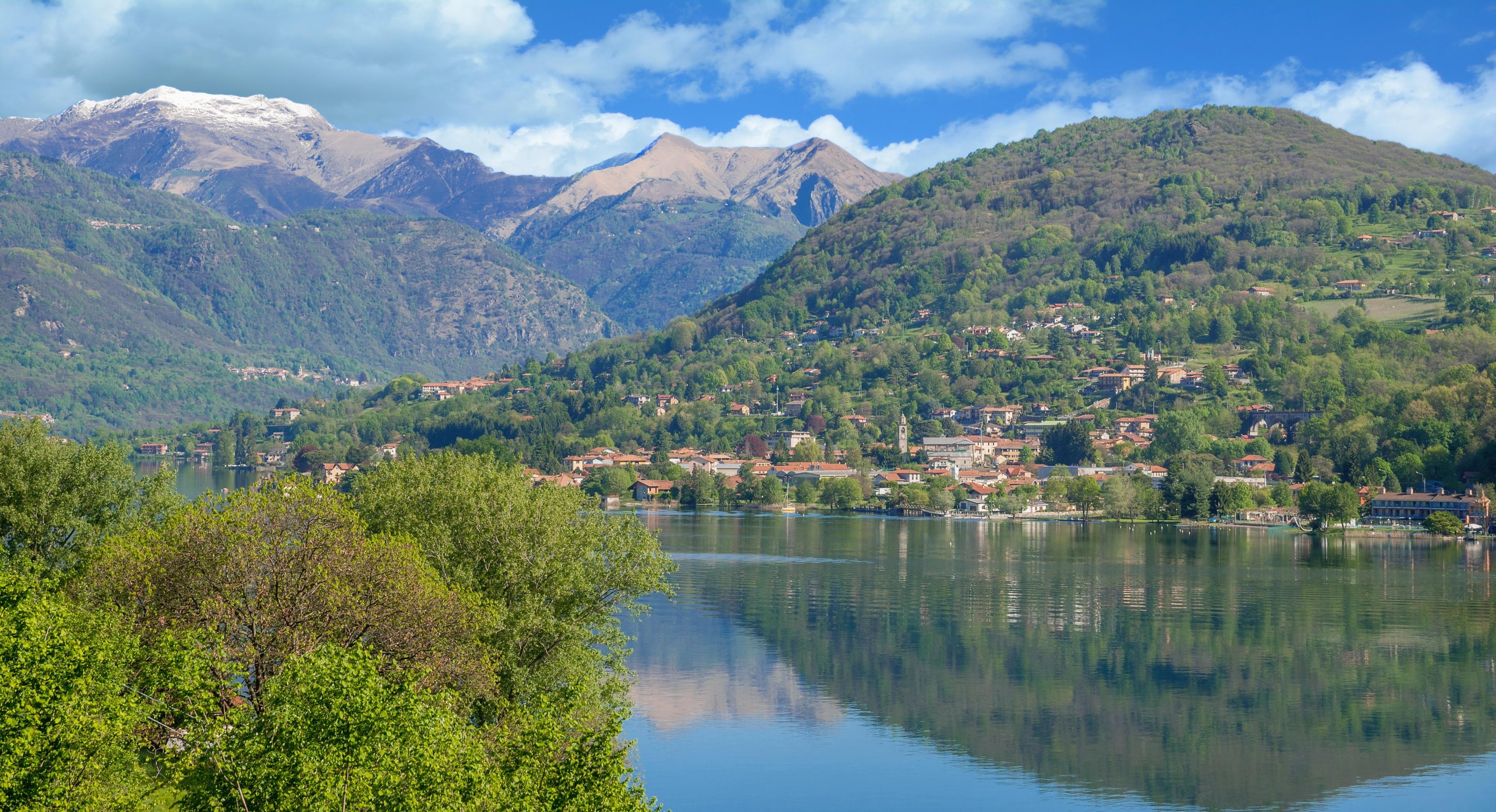 Pettenasco, Piedmont, Italien