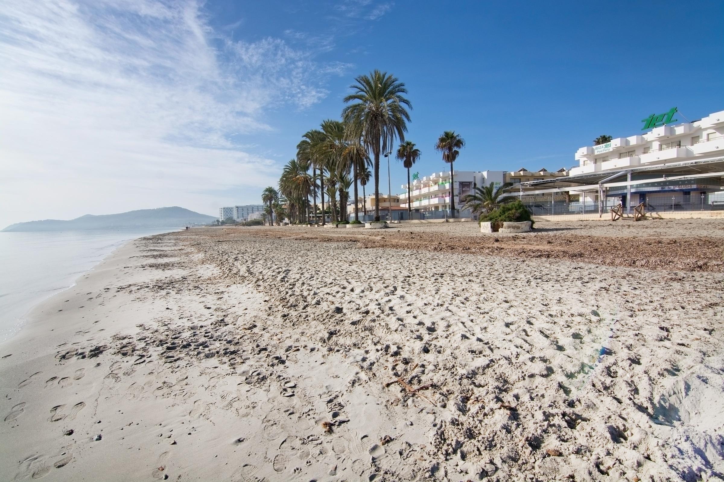 Bossa Beach, Sant Josep de sa Talaia, Balearic Islands, Spain