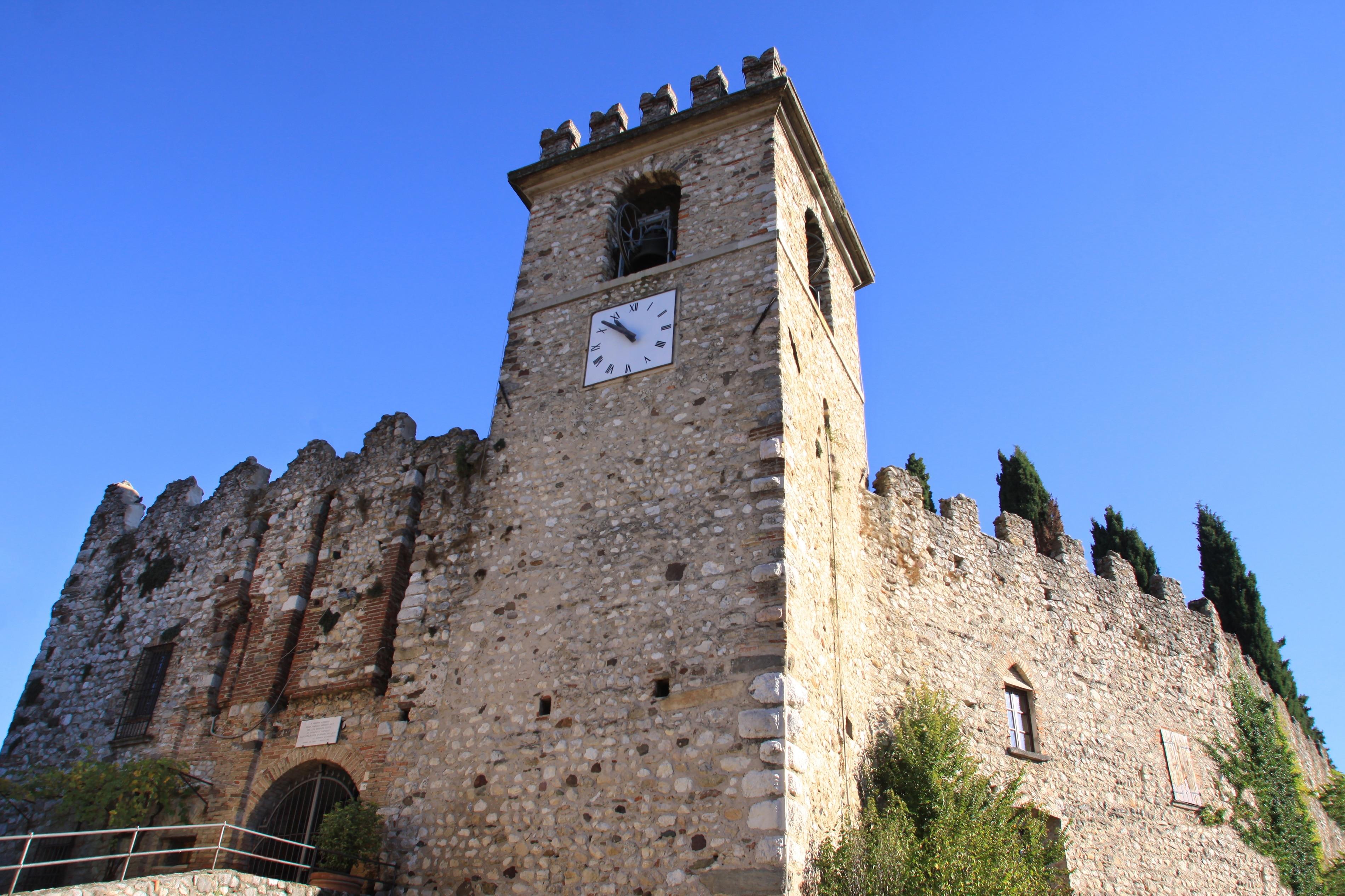 Soiano del Lago, Lombardei, Italien