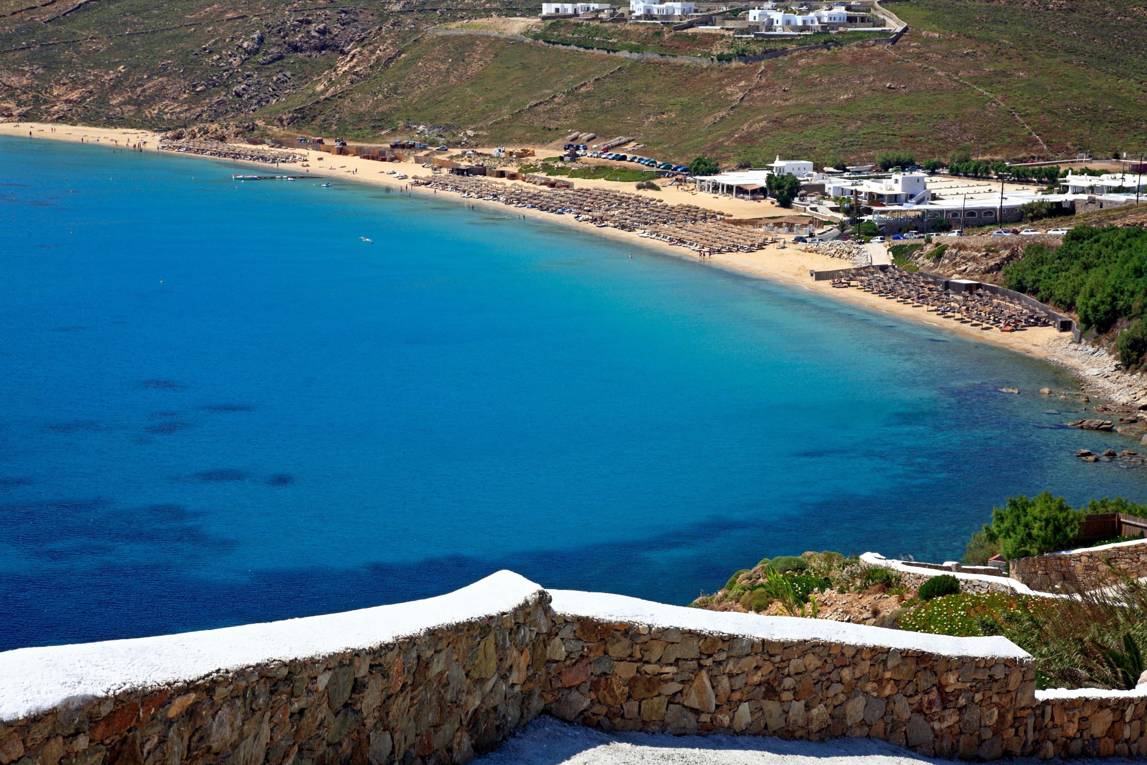 Elia, Mykonos, South Aegean, Greece