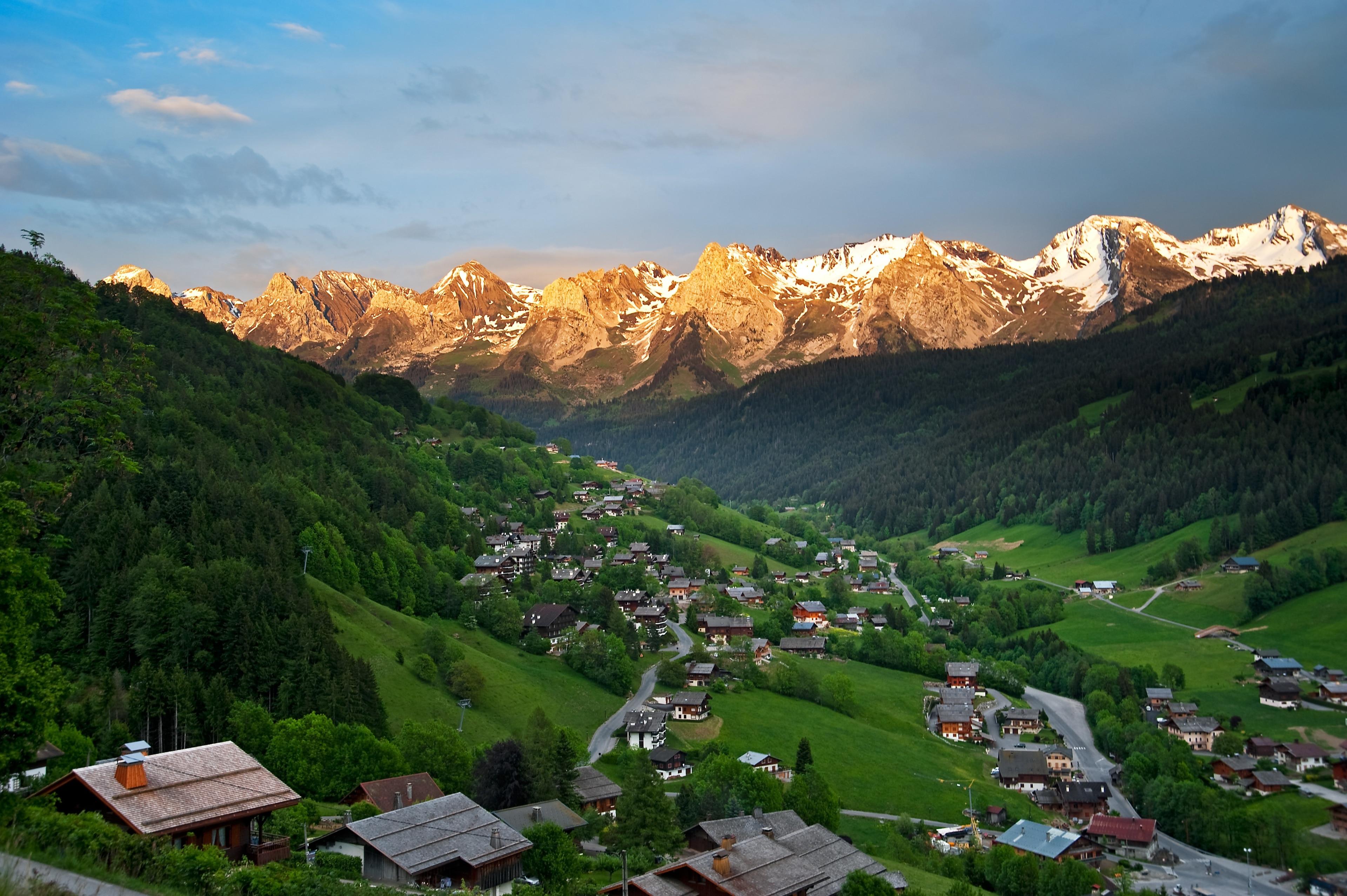 La Clusaz, Haute-Savoie, France