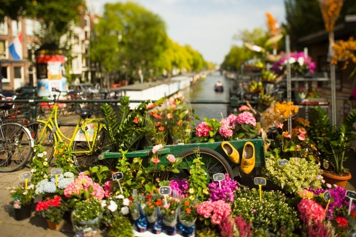 Prinsengracht, Amsterdam, North Holland, Netherlands