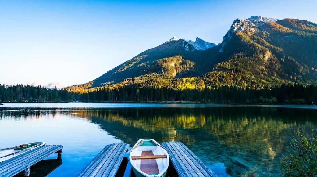 Övre Bayerns berg och sjöar