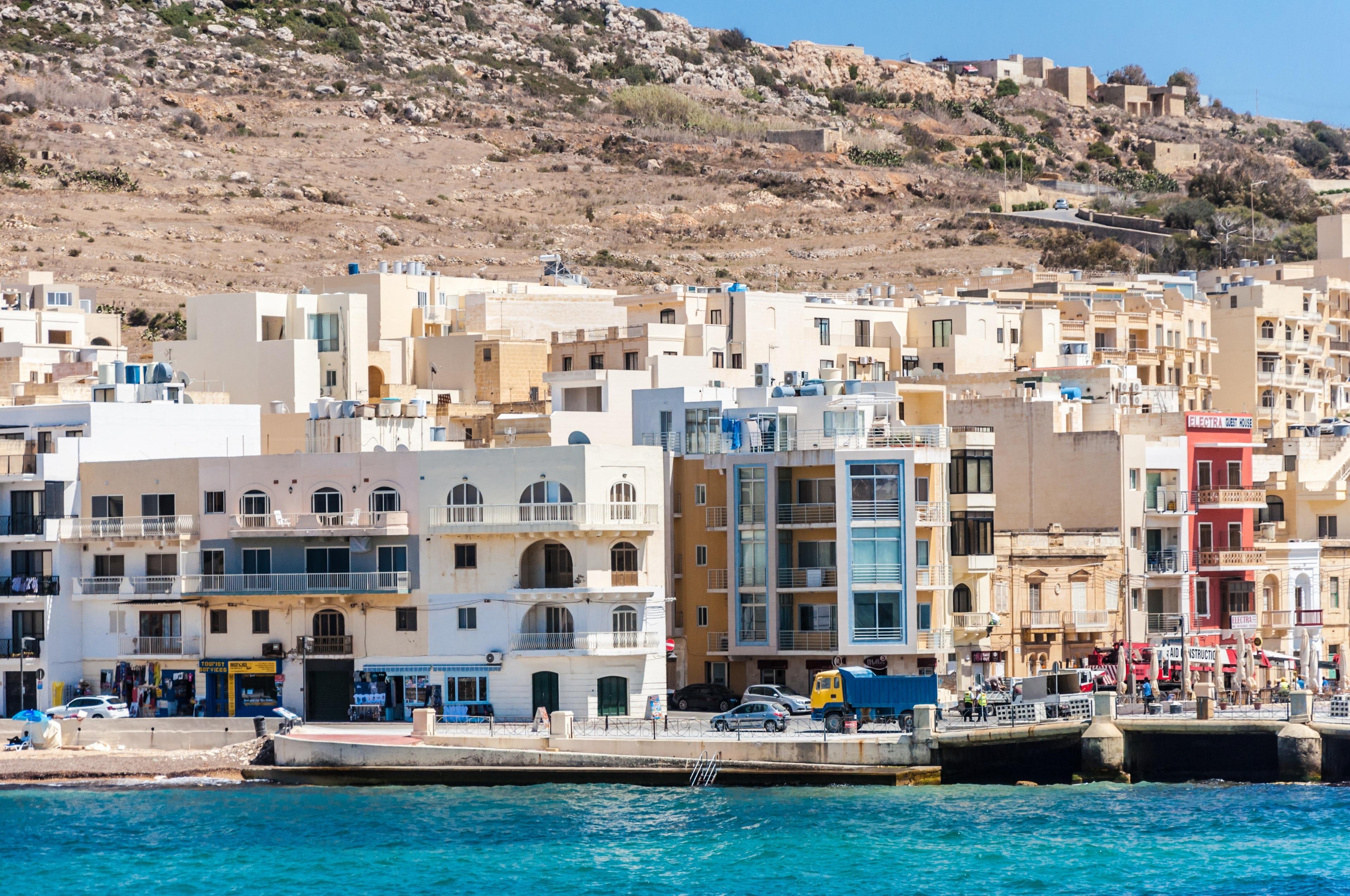 Marsalforn, Zebbug, Gozo Region, Malta