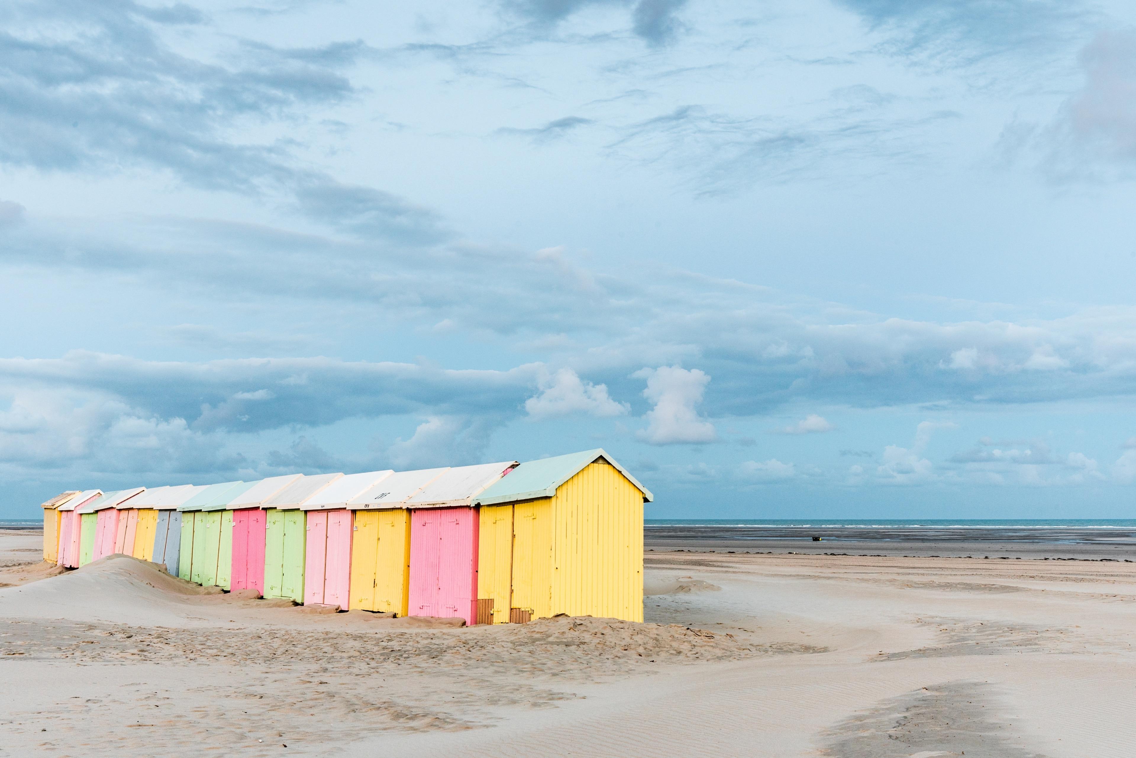 Berck-sur-Mer, Département Pas-de-Calais, Frankreich