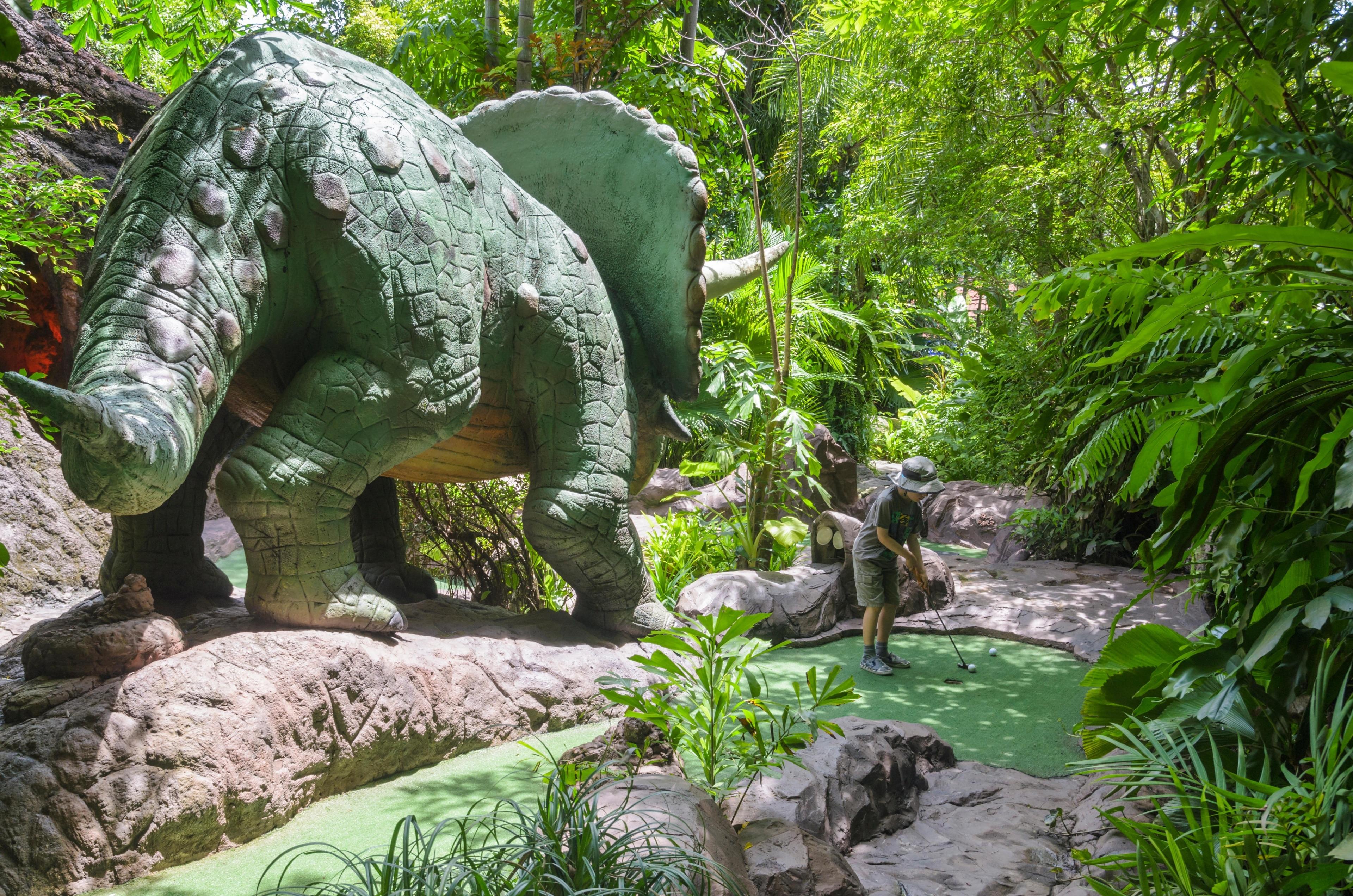 Dino Park Mini Golf, Karon, Phuket Province, Thailand