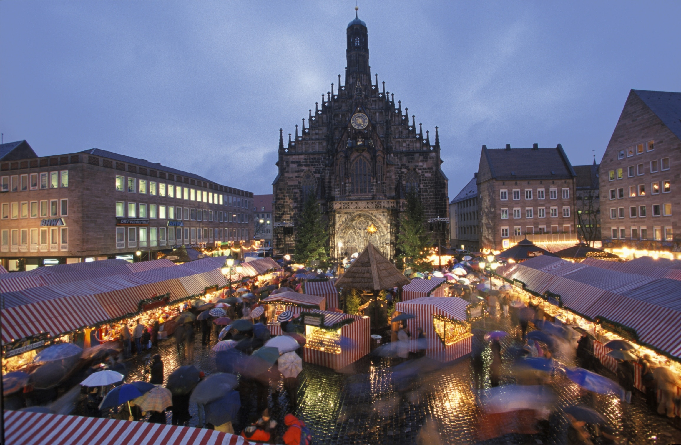 During your visit to Nuremberg, you can search for that perfect souvenir at Nuremberg Christmas Market. Experience the area's museums and festivals.