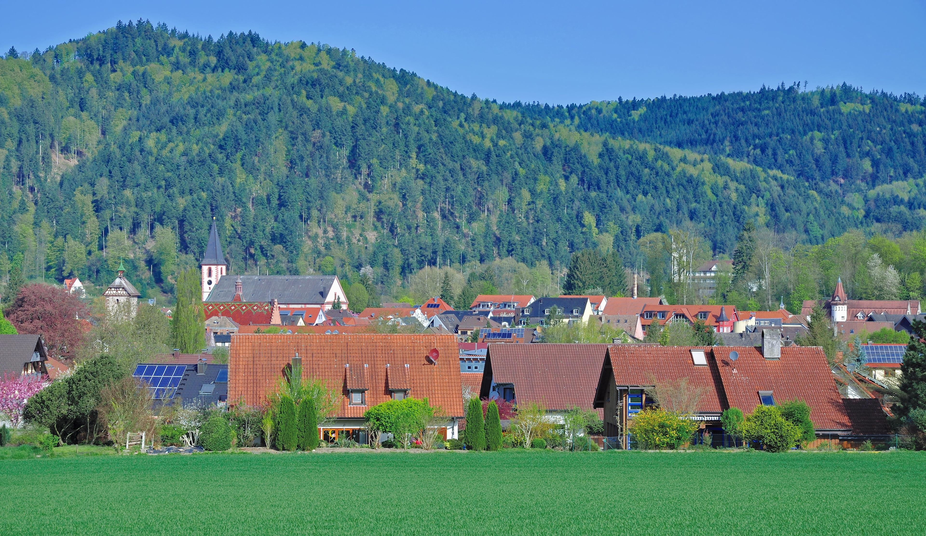 Zell am Harmersbach, Baden-Wuerttemberg, Tyskland