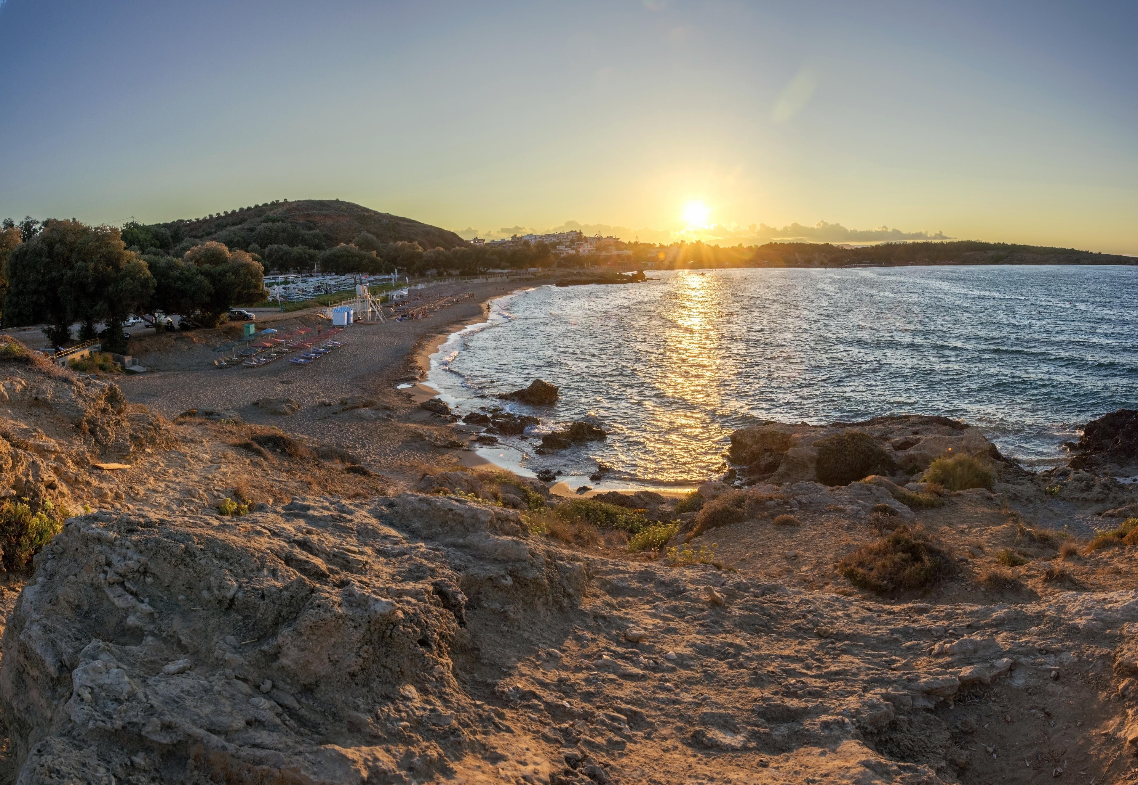 Golden Beach, Chania, Crete, Greece