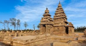 Strand van Mahabalipuram
