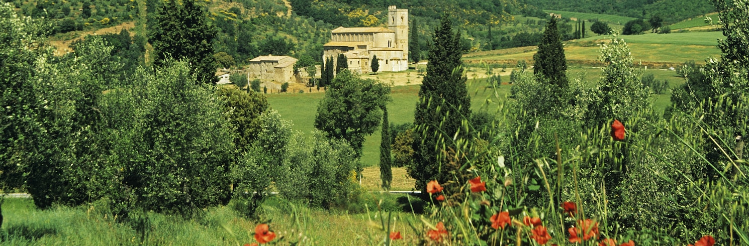 Montalcino, Italien