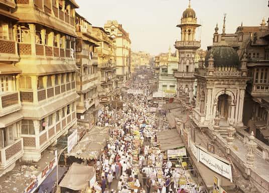Centrální předměstí, Indie
