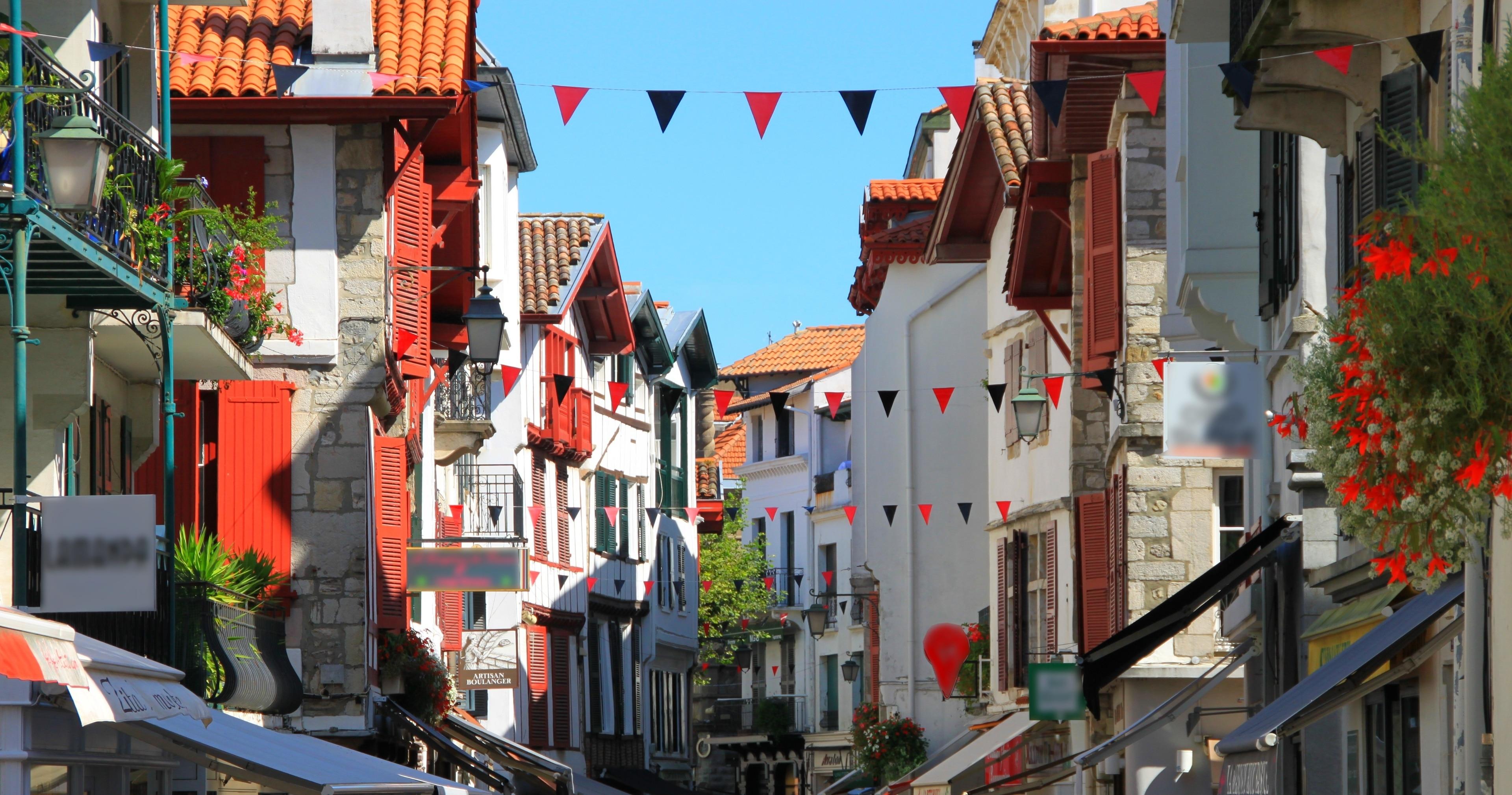 Hendaye, Département Pyrénées-Atlantiques, Frankreich
