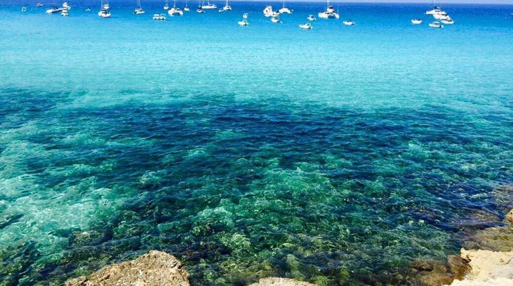 Strand von Cala Rossa