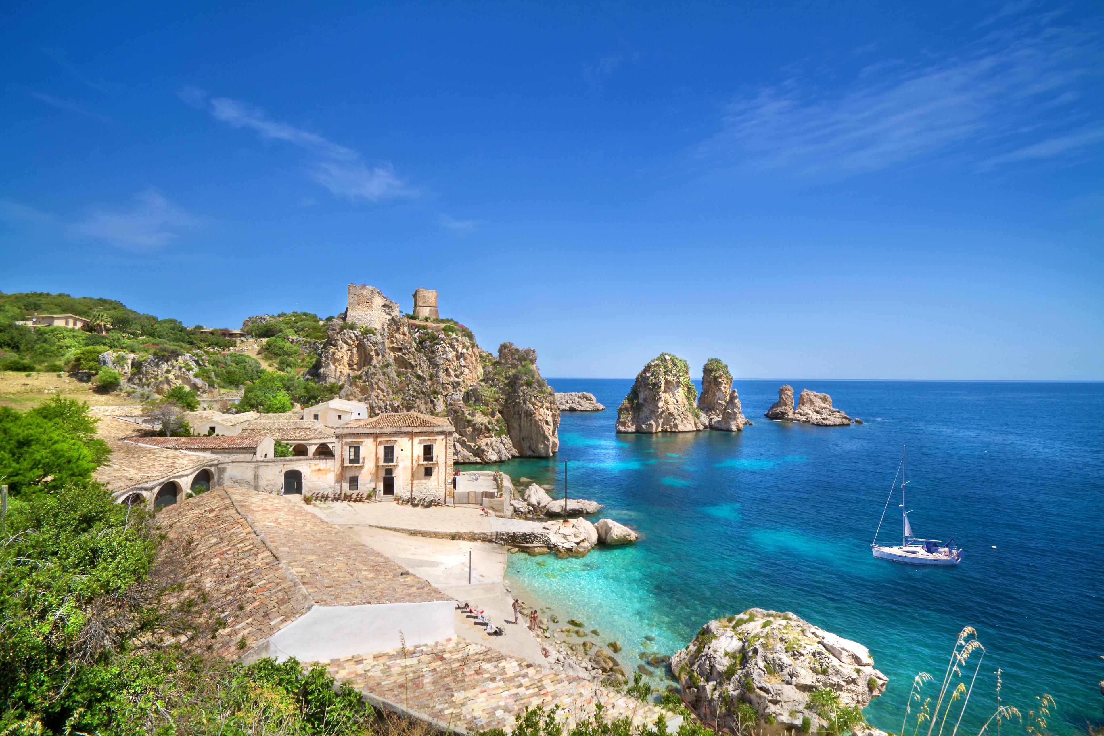 Tonnara of Scopello, Castellammare del Golfo, Sicily, Italy