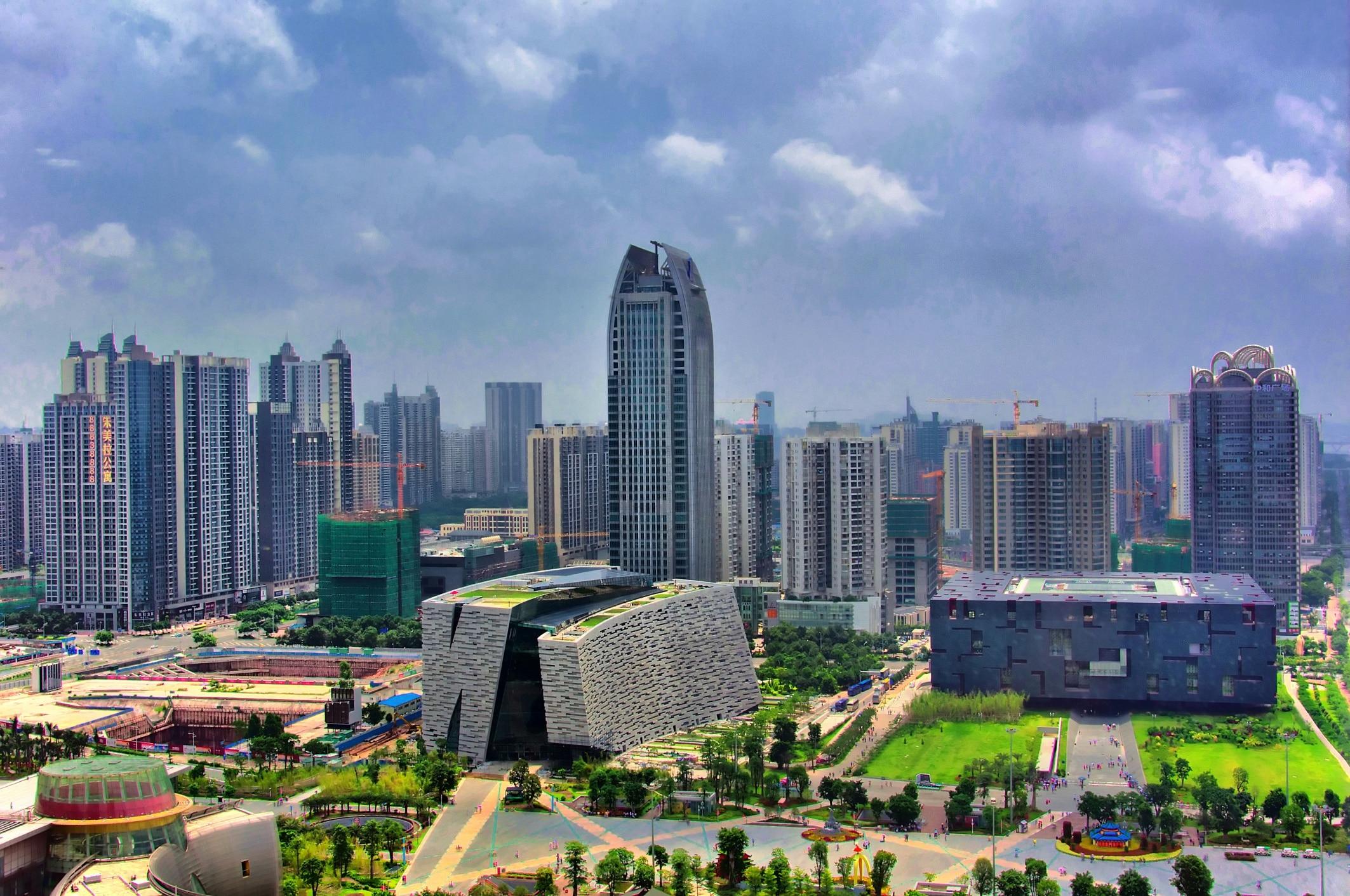 Guangdong Provincial Museum, Guangzhou, Guangdong, China
