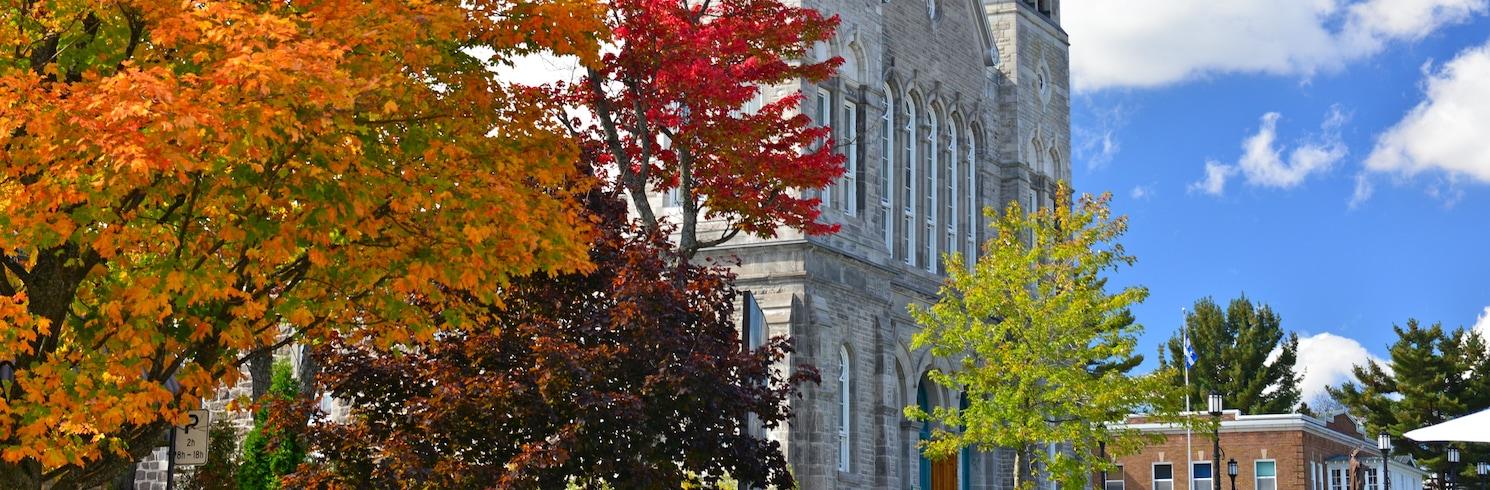 Sainte-Agathe-des-Monts, Квебек, Канада