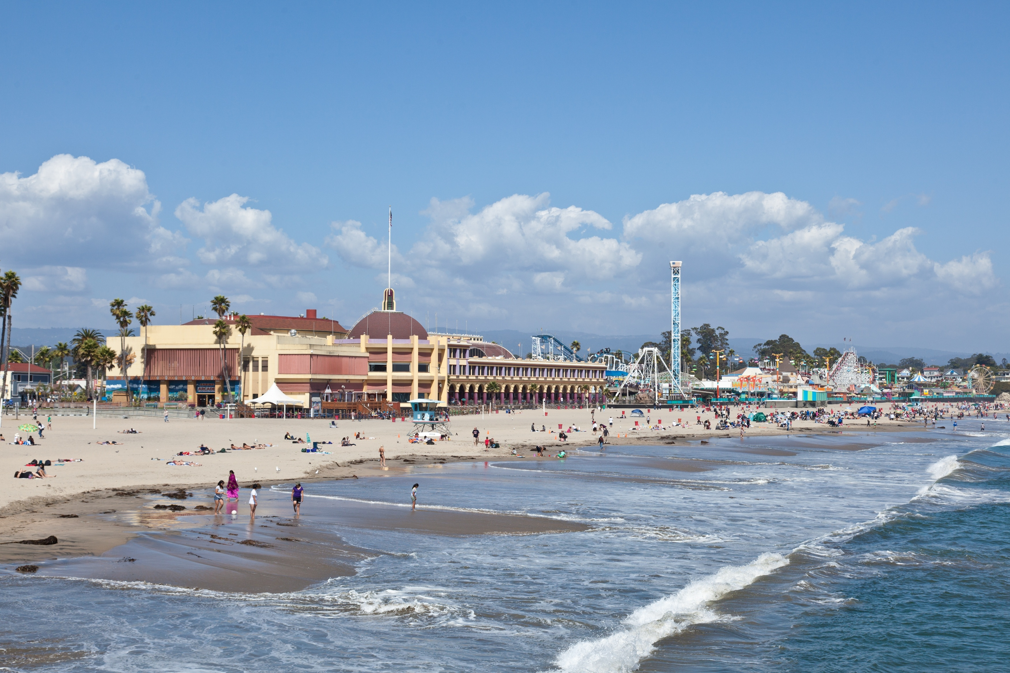 Enjoy the thrills at Santa Cruz Beach Boardwalk and find out why people love this theme park in Santa Cruz. Attend a sporting event in this walkable area, or seek out the biking trails.