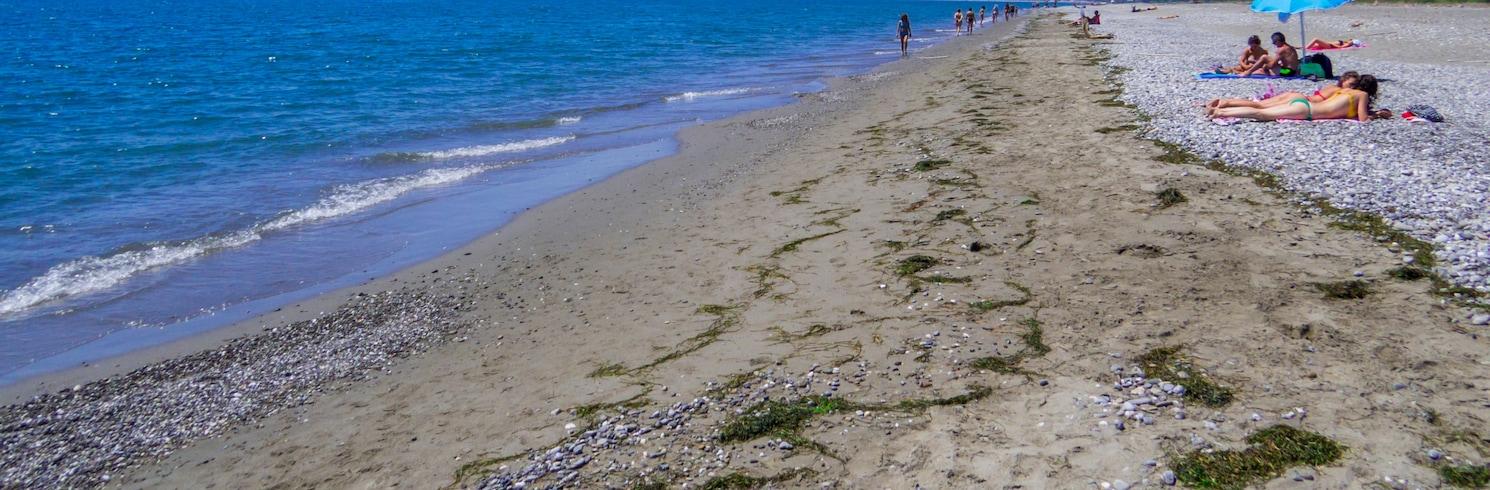 חוף יוניאן, איטליה