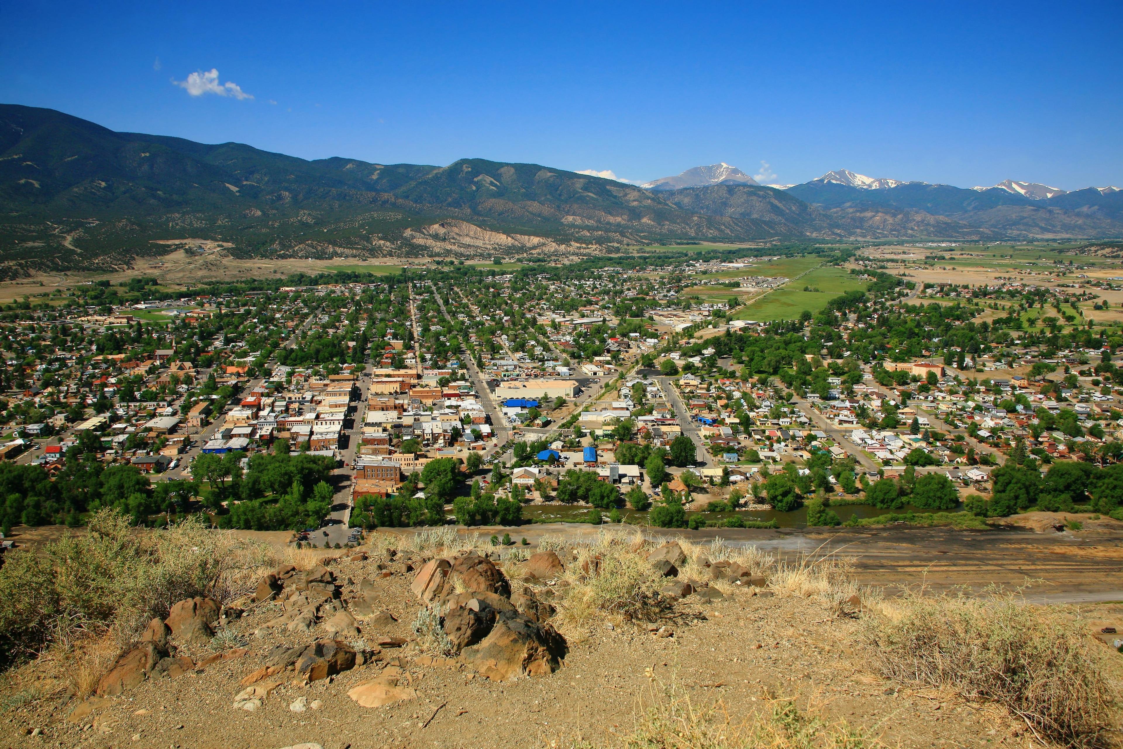 Downtown Salida, Salida, Colorado, United States of America