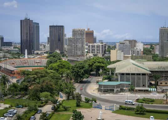Abidjan, Côte d'Ivoire (Elfenbeinküste)