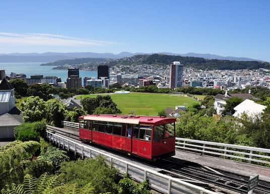 Wellington CBD, New Zealand