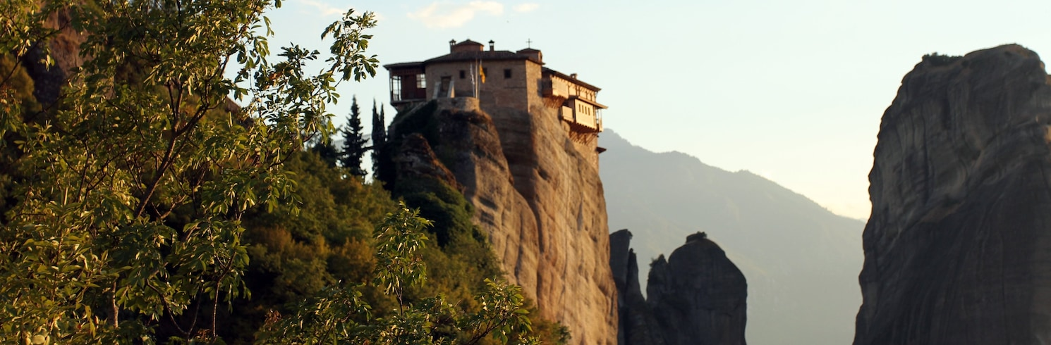 Kalambaka, Griekenland