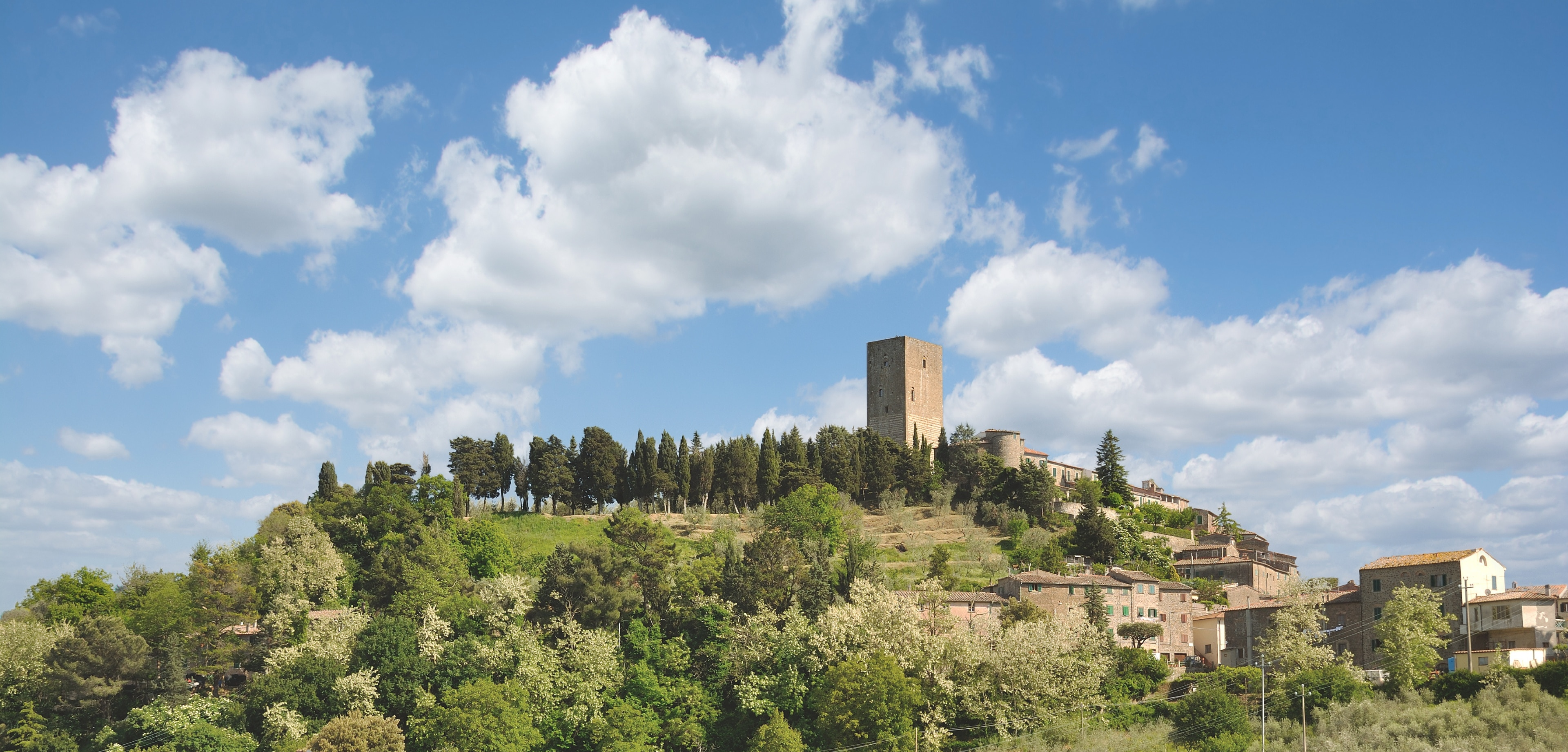 Montecatini Val di Cecina, Toskana, Italien