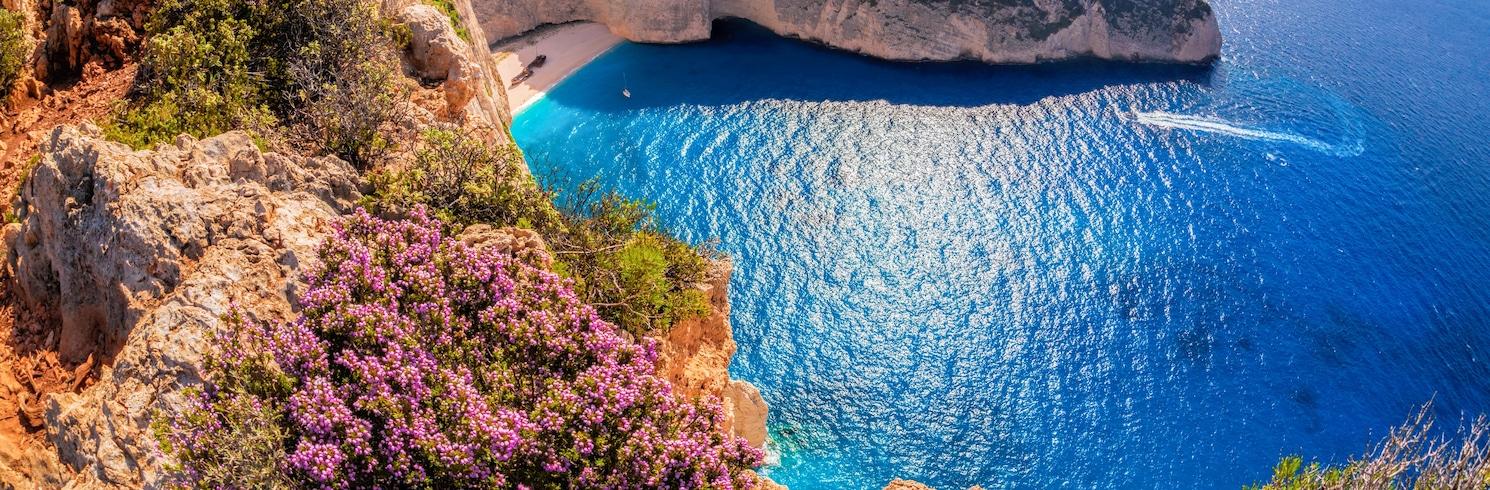 Закінф, Греція