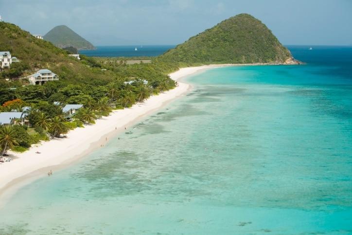 Smuggler's Cove Beach, West End, Tortola, British Virgin Islands