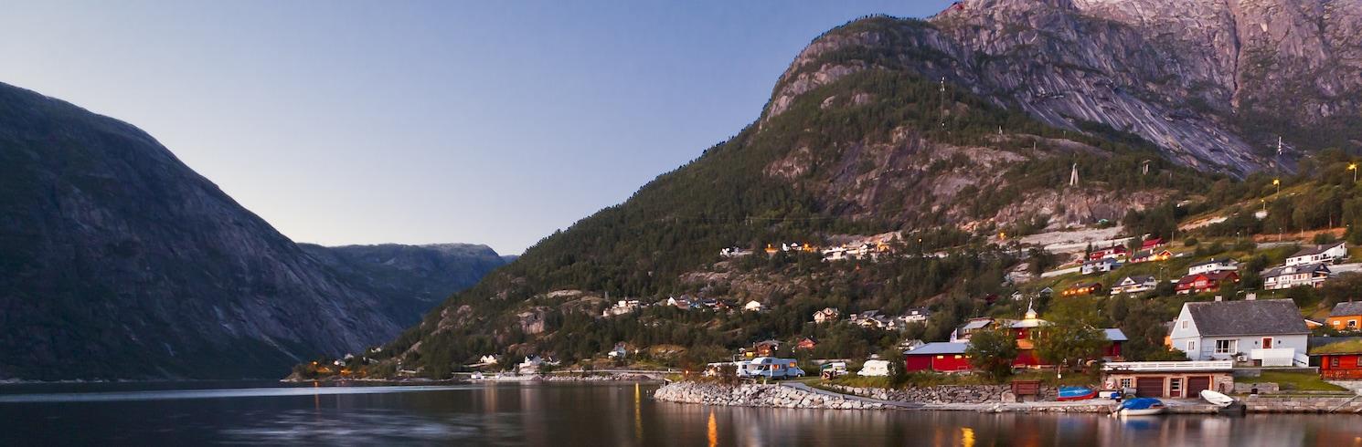 Eidfjord, Norvegija