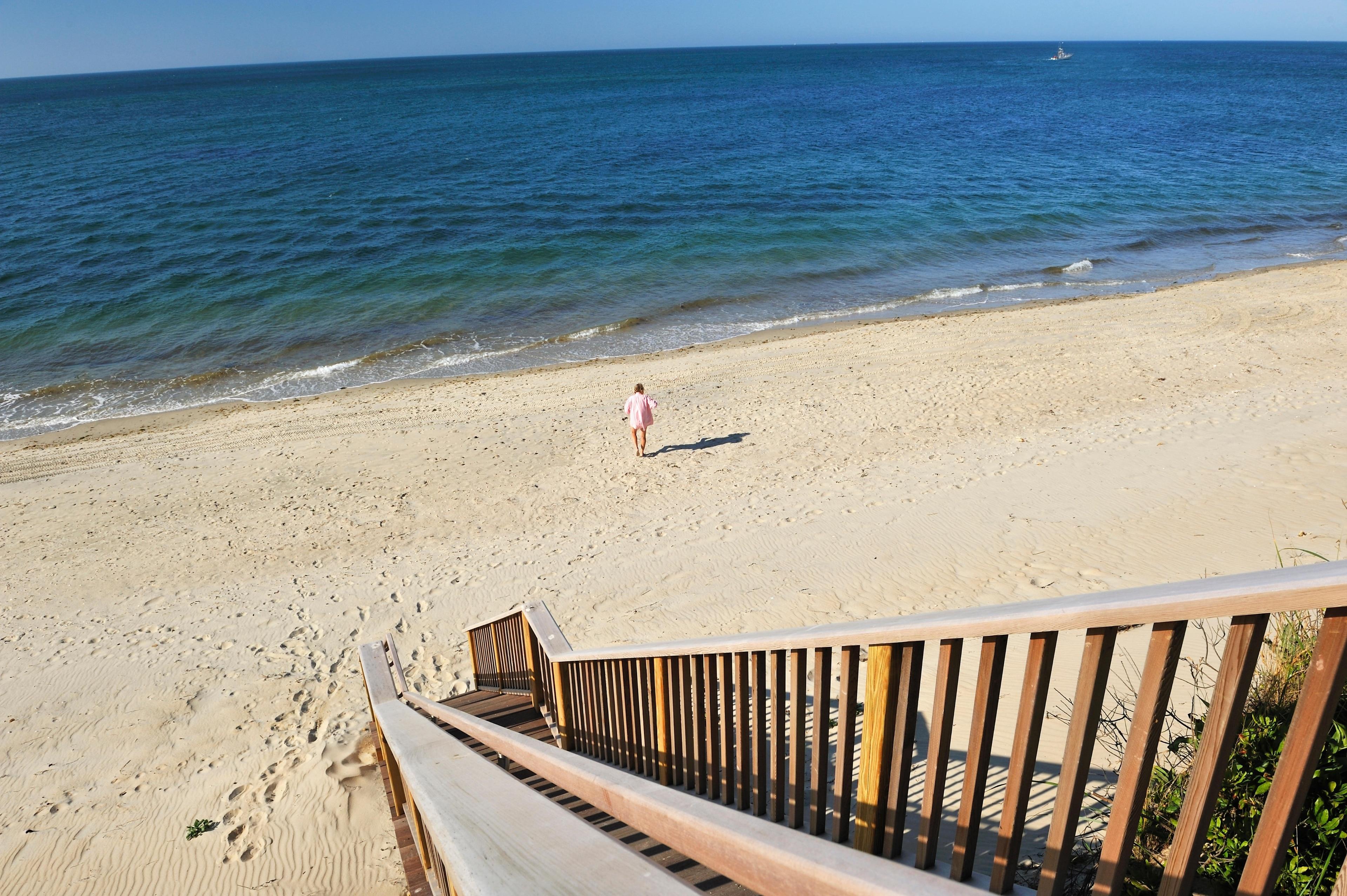 Jetties Beach, Nantucket, Massachusetts, Verenigde Staten