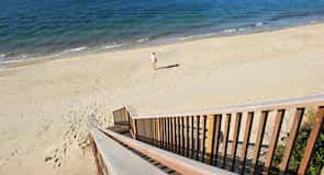 Jetties Beach tengerpart