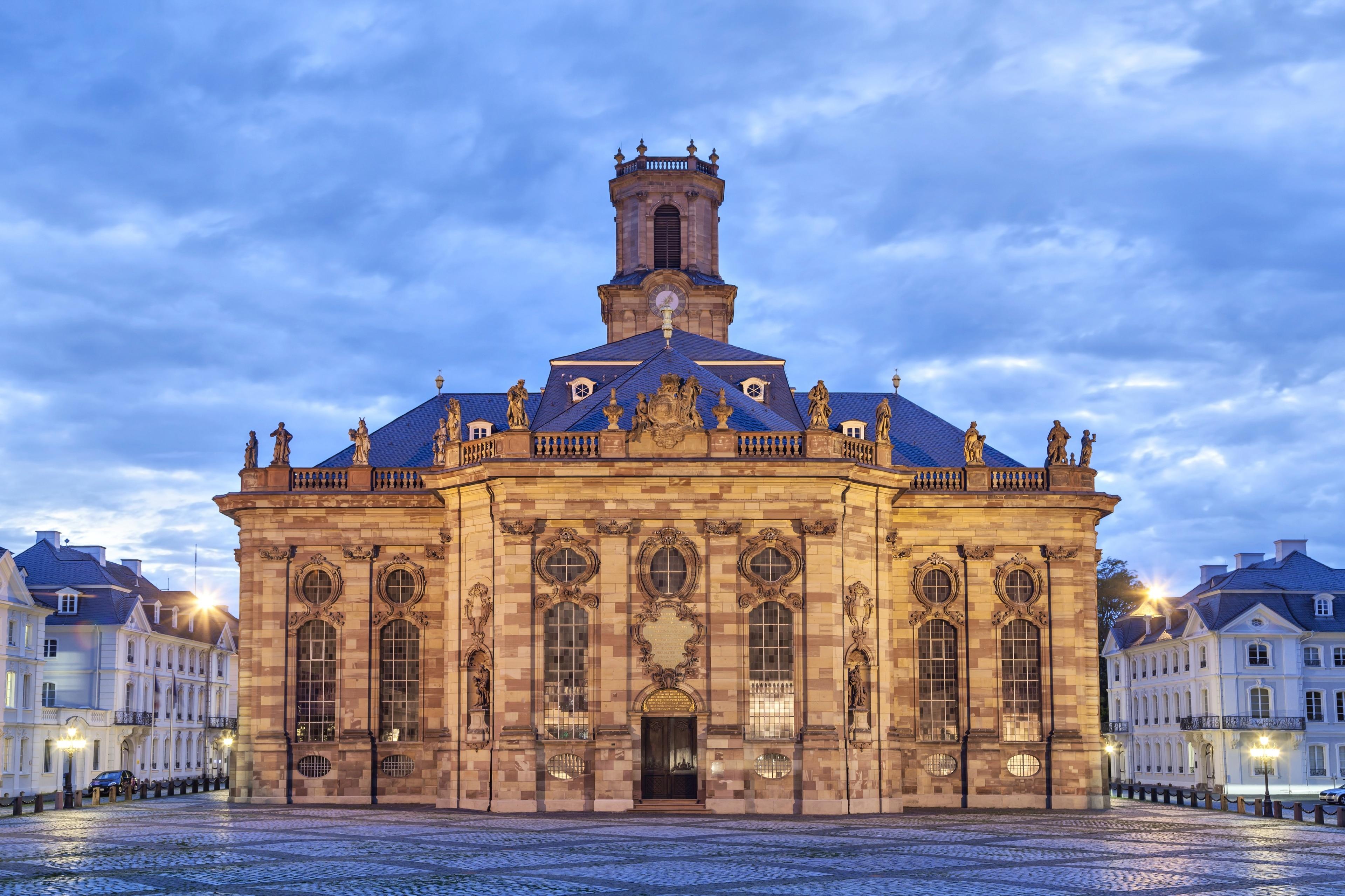 Ludwigskirche, Saarbruecken, Saarland, Germany