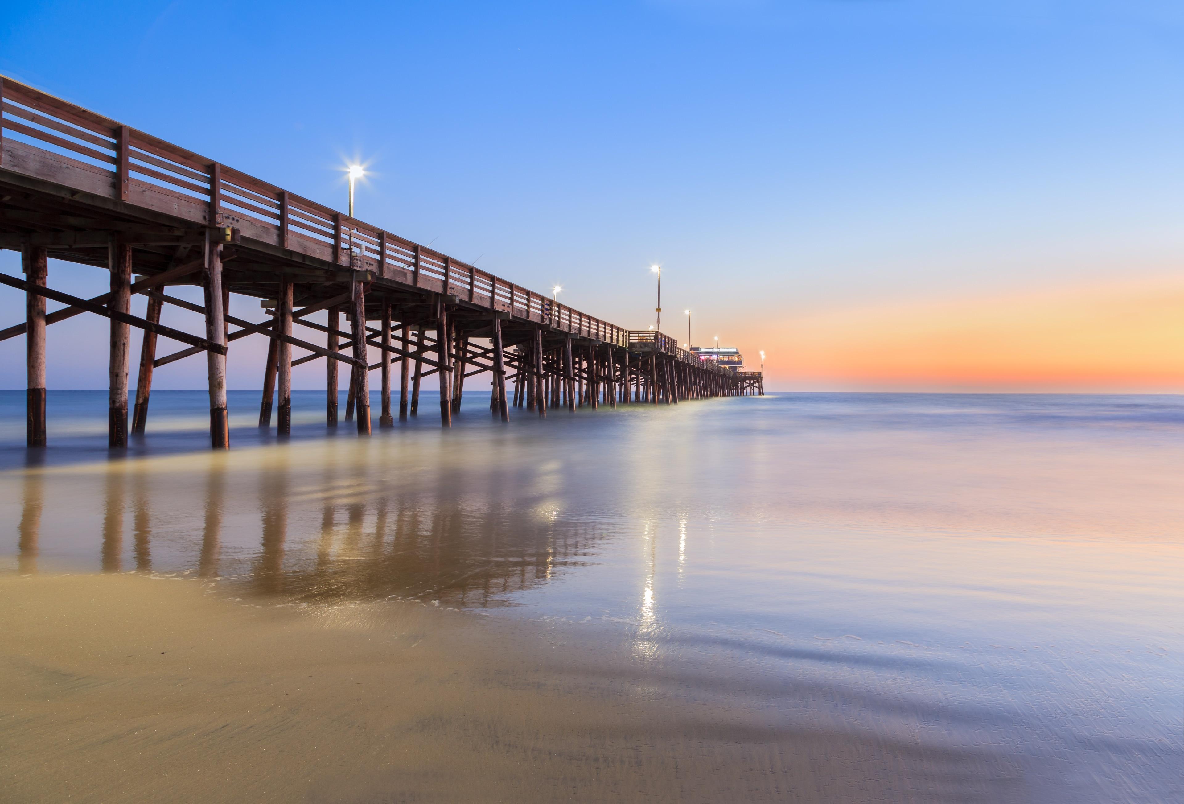 Newport Pier, Newport Beach, California, United States of America