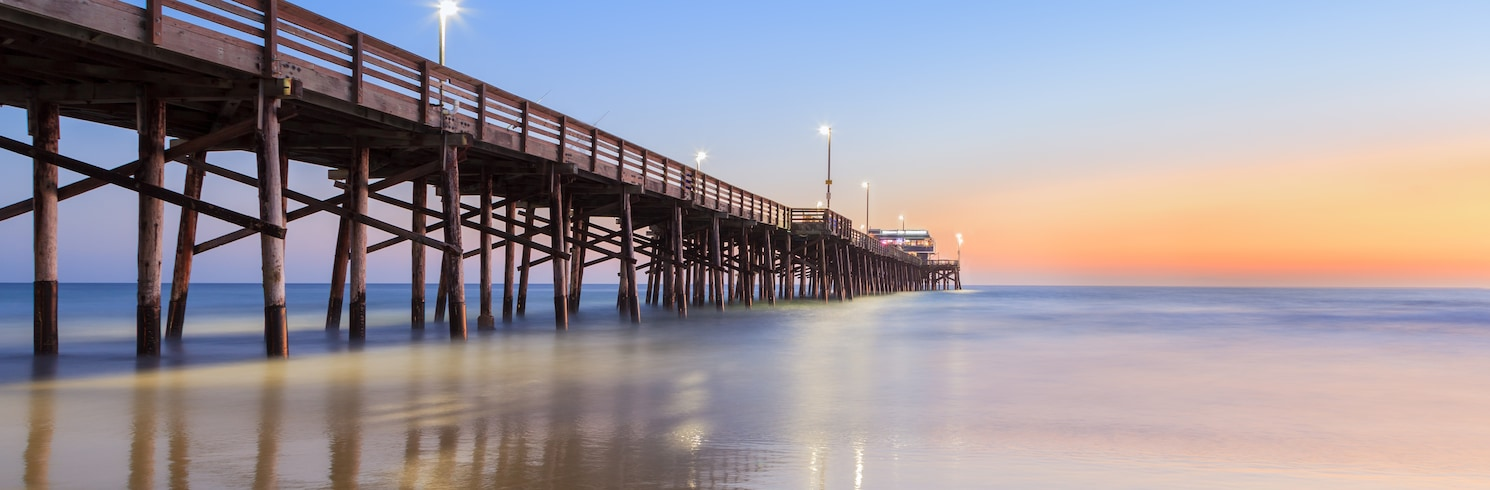 Newport Beach, Kalifornie, USA