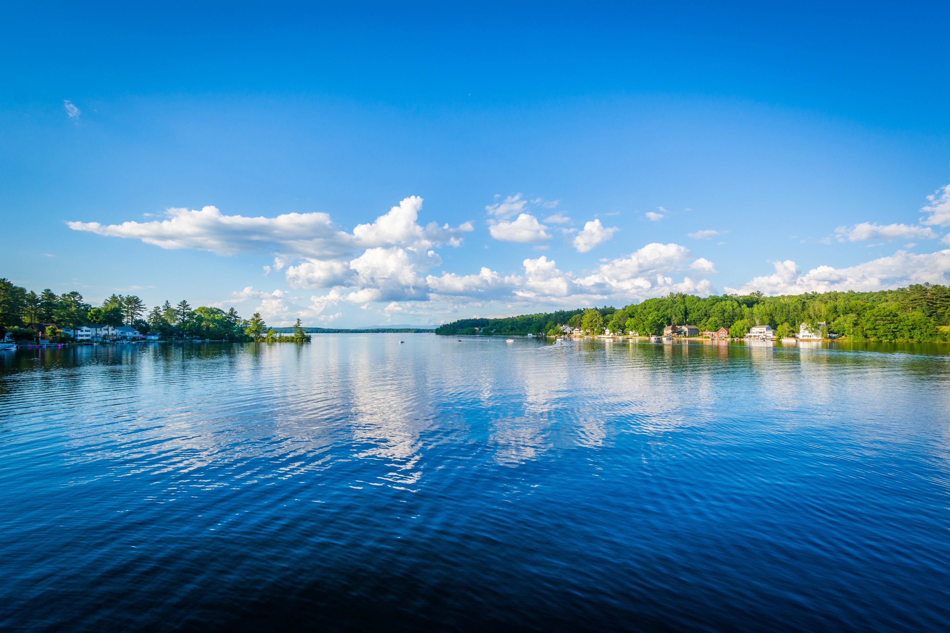 Lake Winnisquam, Laconia, New Hampshire, United States of America