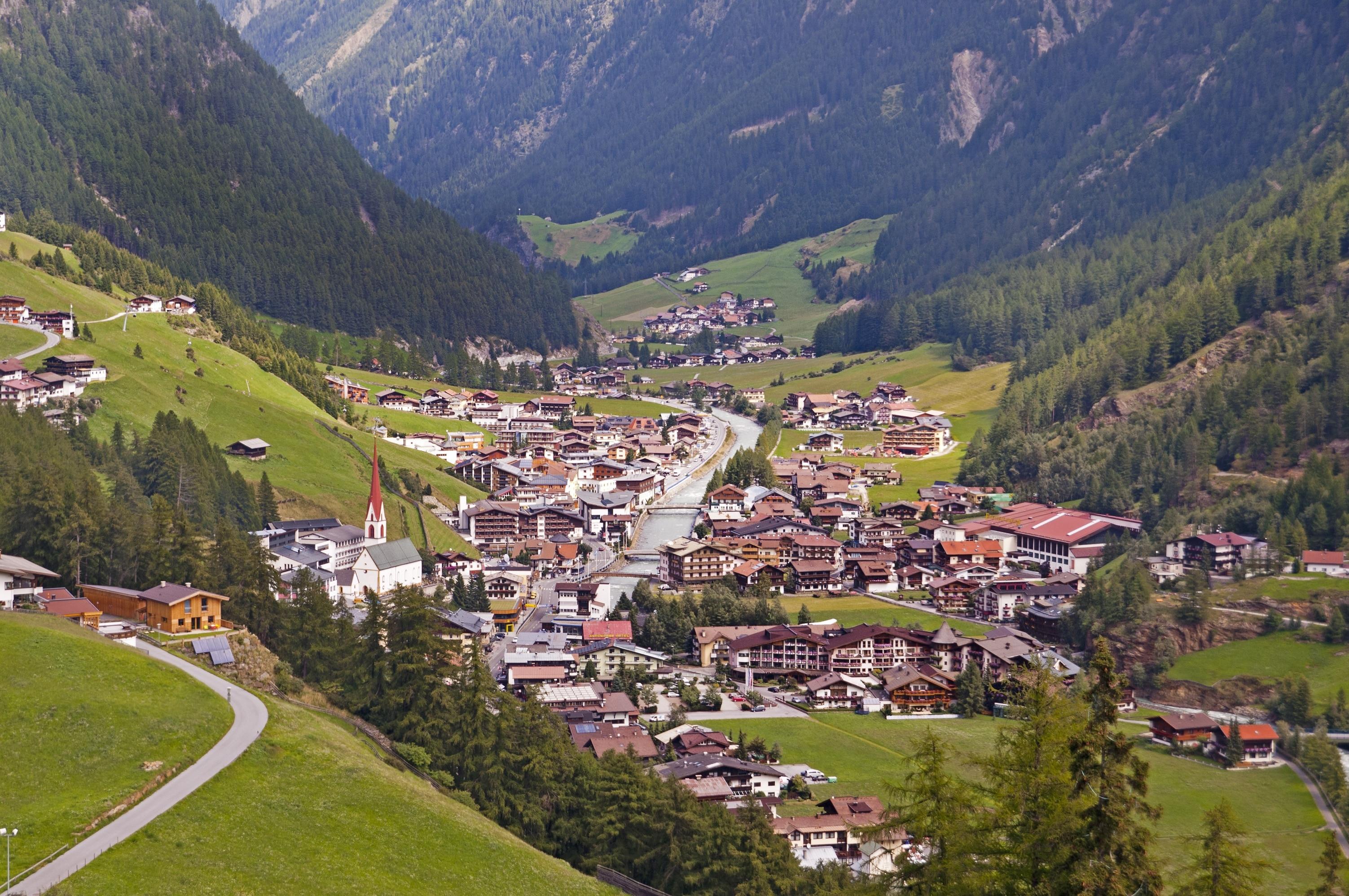 Laengenfeld, Tyrol, Austria