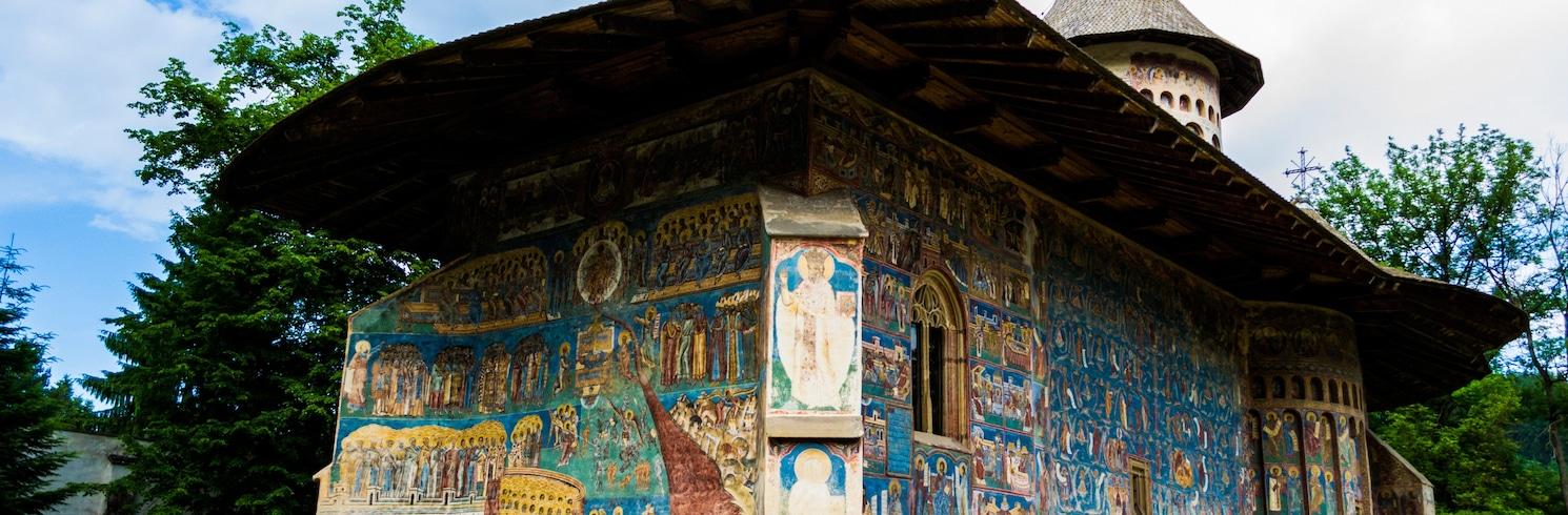 Manastirea Humorului, Romania