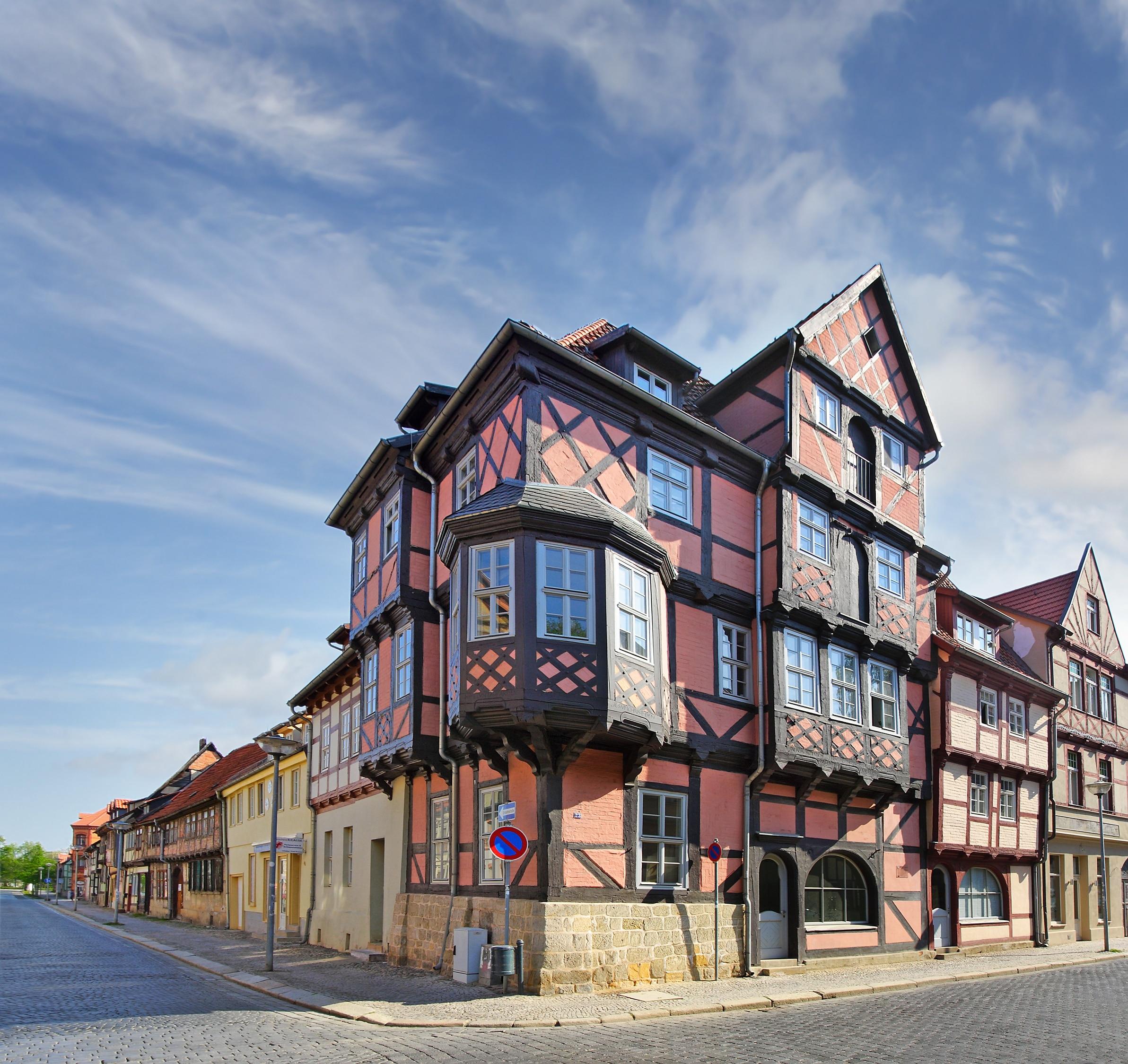 Quedlinburg, Sachsen-Anhalt, Deutschland