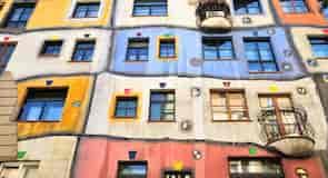 Hundertwasserova kuća u Beču