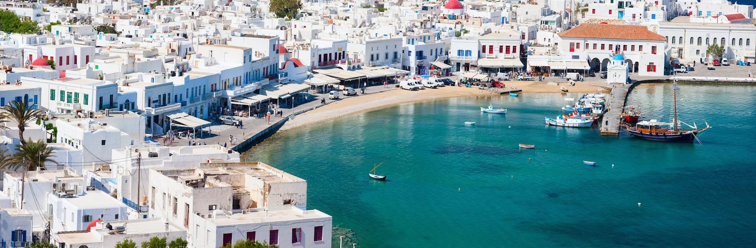 Ciudad de Mikonos, Grecia