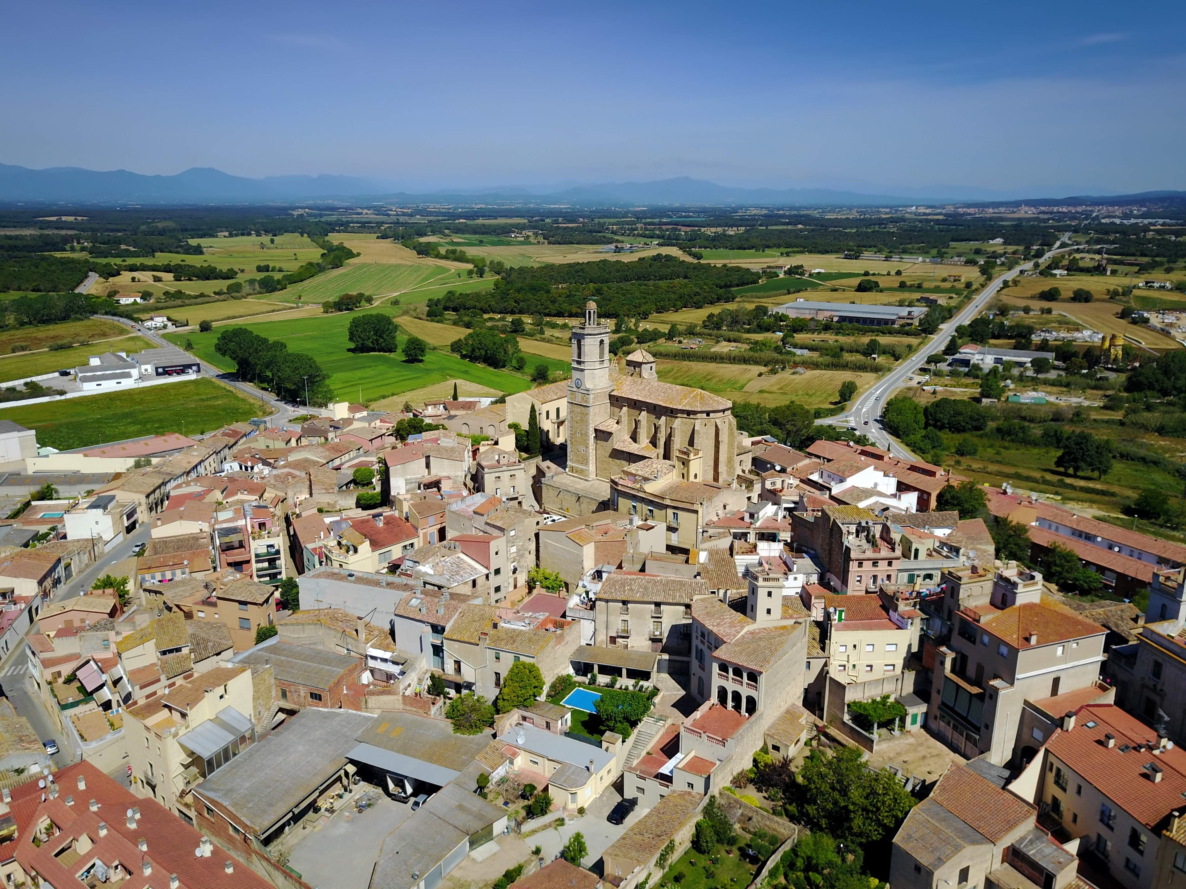 Llagostera, Katalonien, Spanien