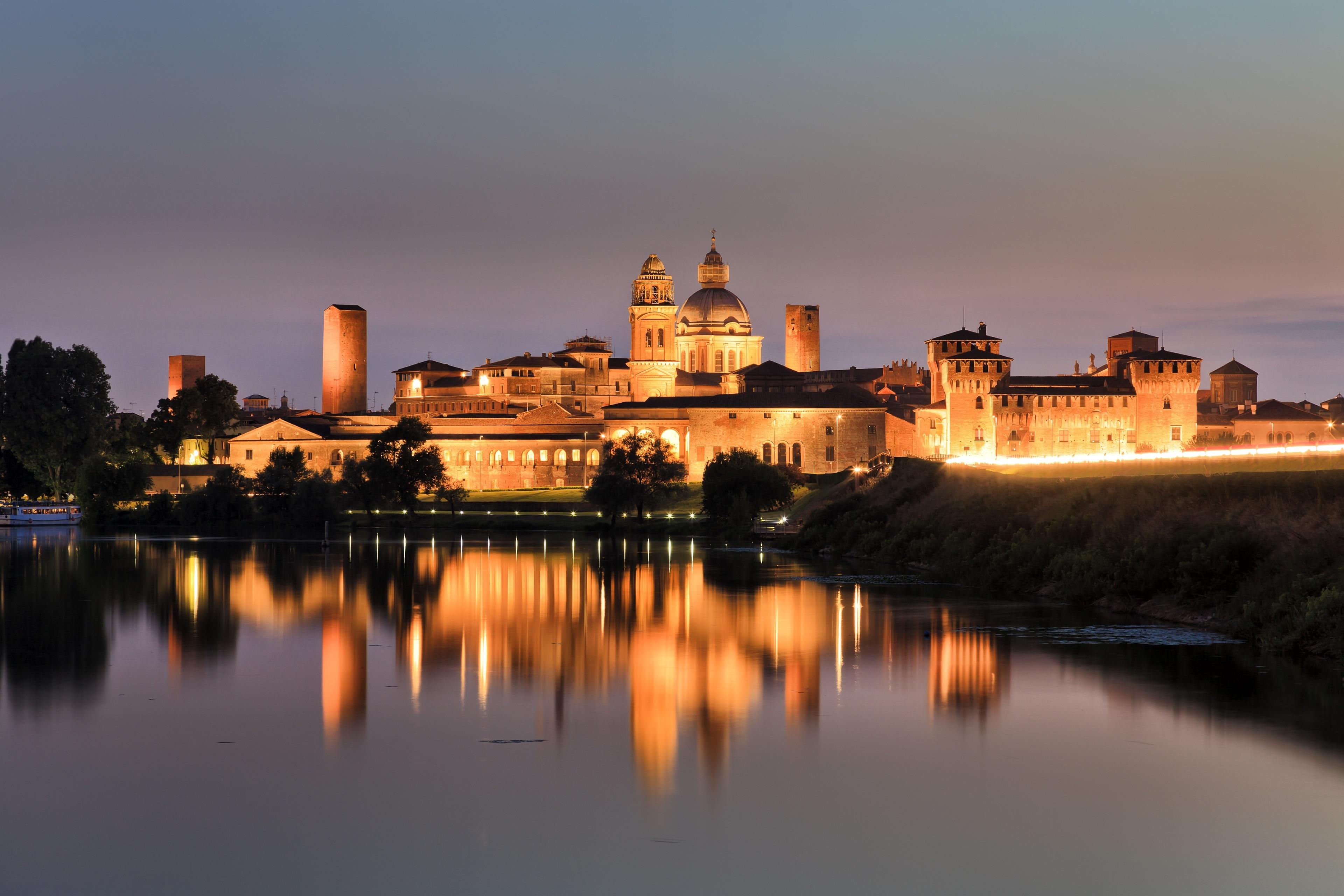Hertogelijk Paleis van Mantova, Mantua, Lombardije, Italië